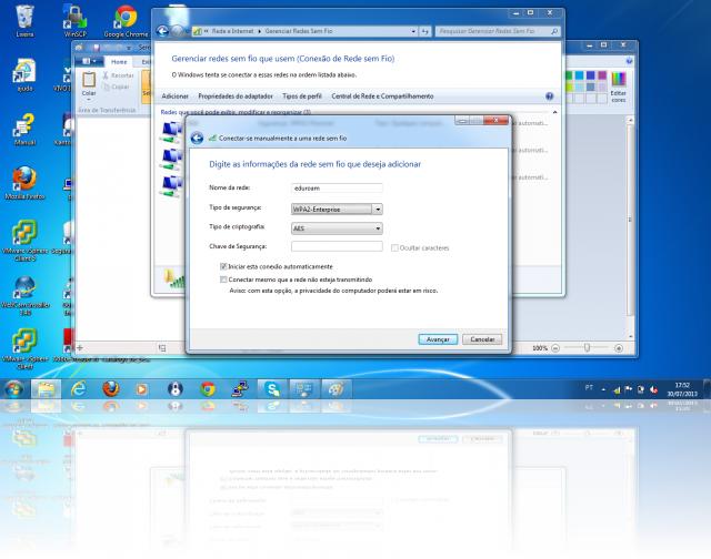 Cliente Windows - criar rede eduroam