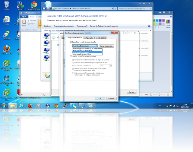 Cliente Windows - MSCHAPv2