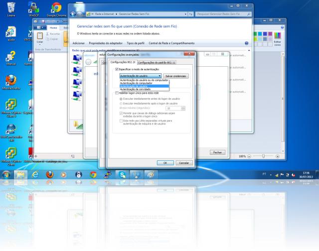 Cliente Windows - MSCHAPv2