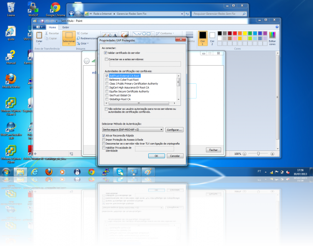 Cliente Windows - PEAP - SSL Addtrust