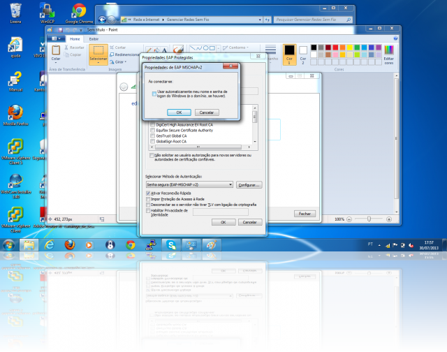 Cliente Windows - PEAP user